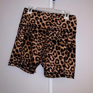 Bike Shorts (Cheetah)